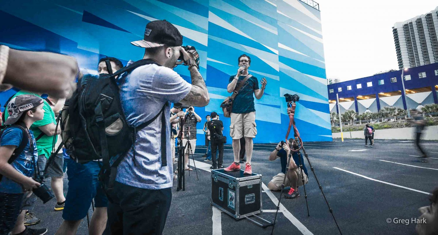 #TreyUSA #Photowalk Trey Ratcliff photographer, Miami Walk, Trey, Miami Walk, Greg Hark