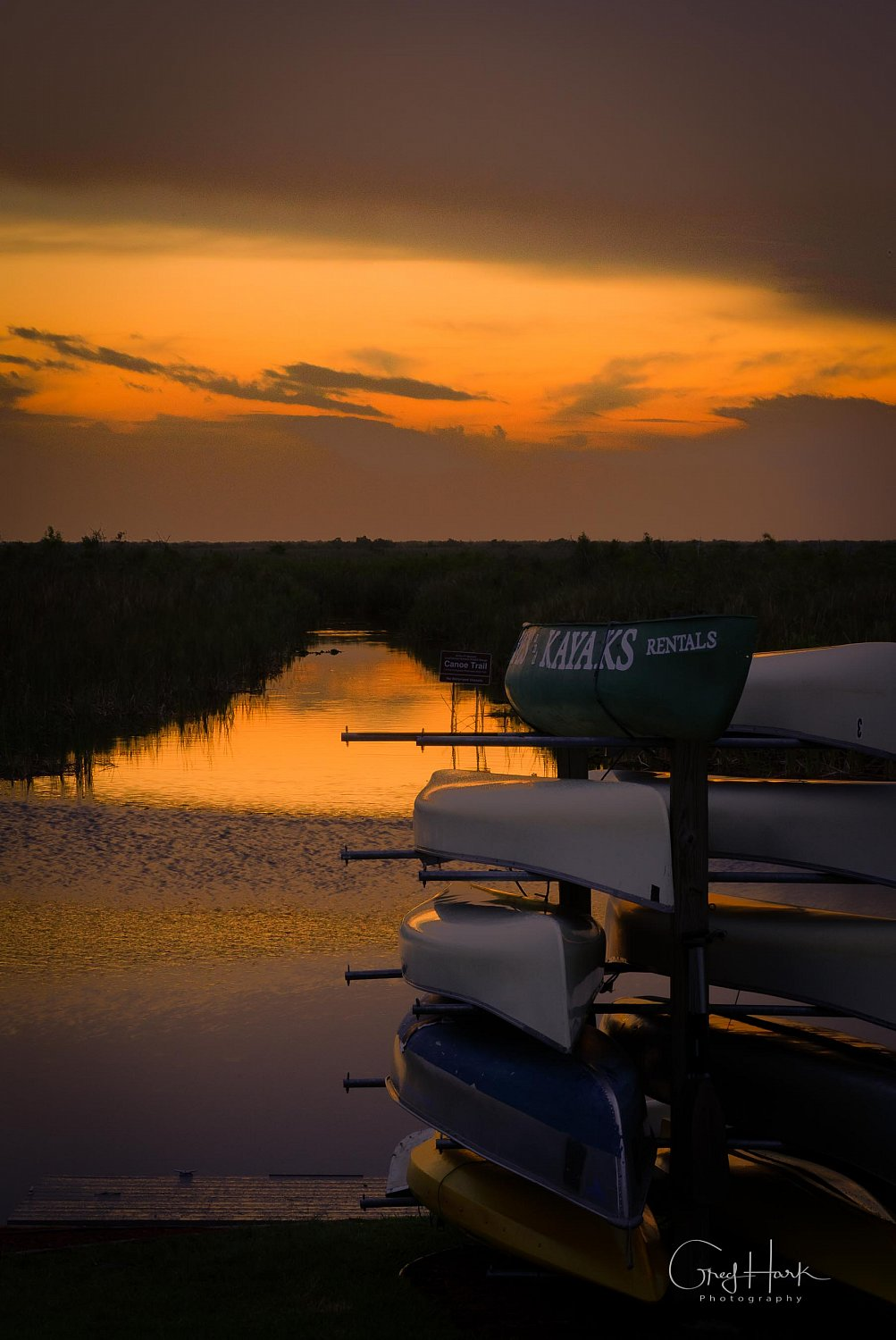 Arthur R. Marshall Loxahatchee - Sunset Kayak,Loxahatchee,Loxahatchee Sunset 4-2018,canoe,sunset,